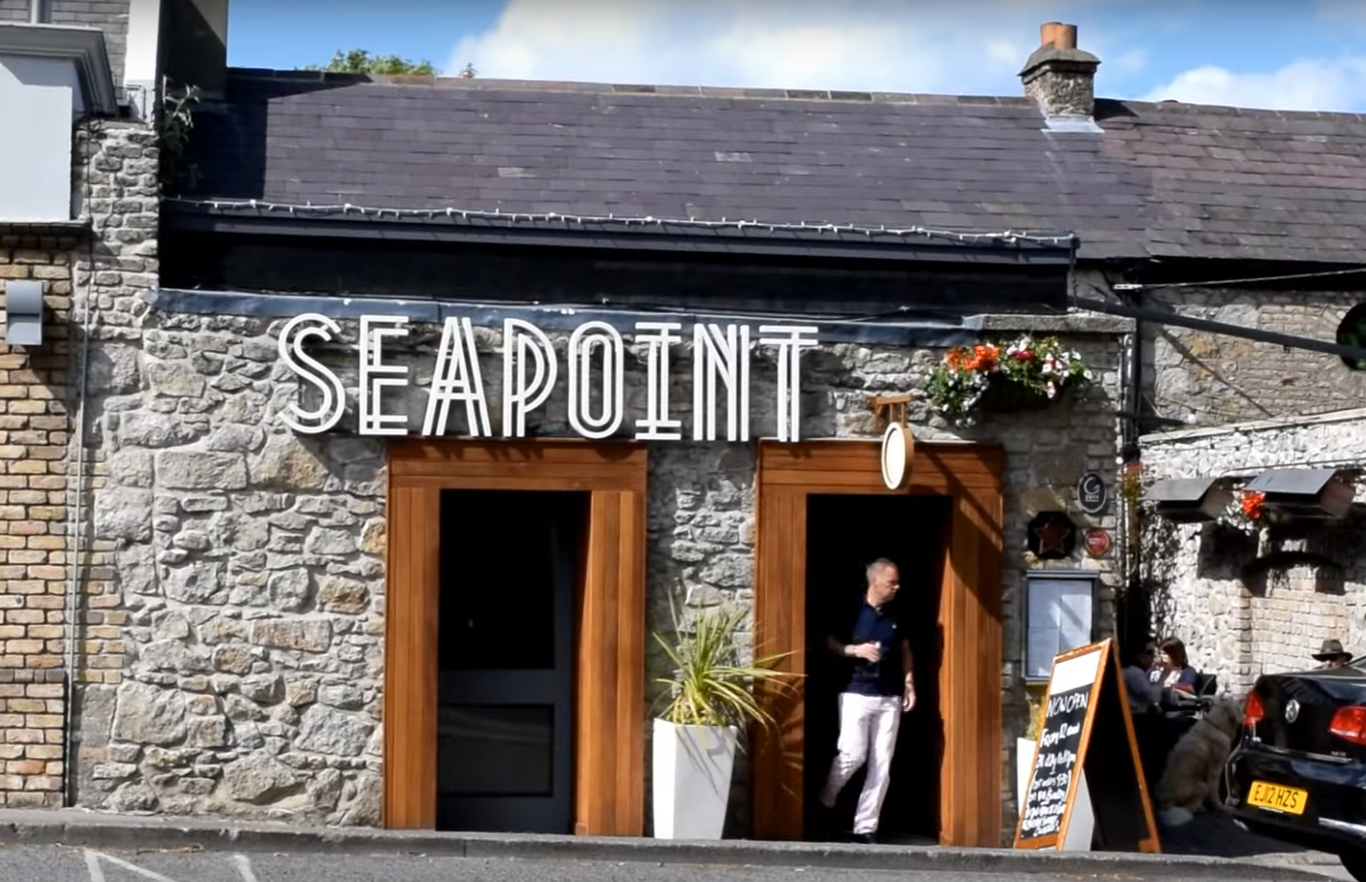 The well-known Seapoint restaurant in south Dublin is going