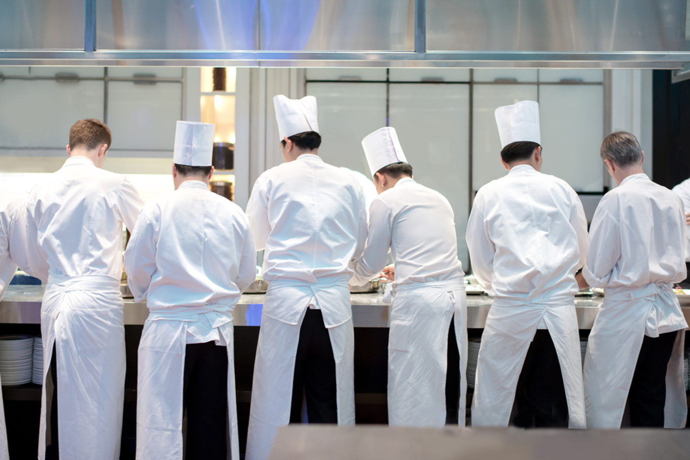 Chefs' pay is increasing - but it's still sub-par for junior