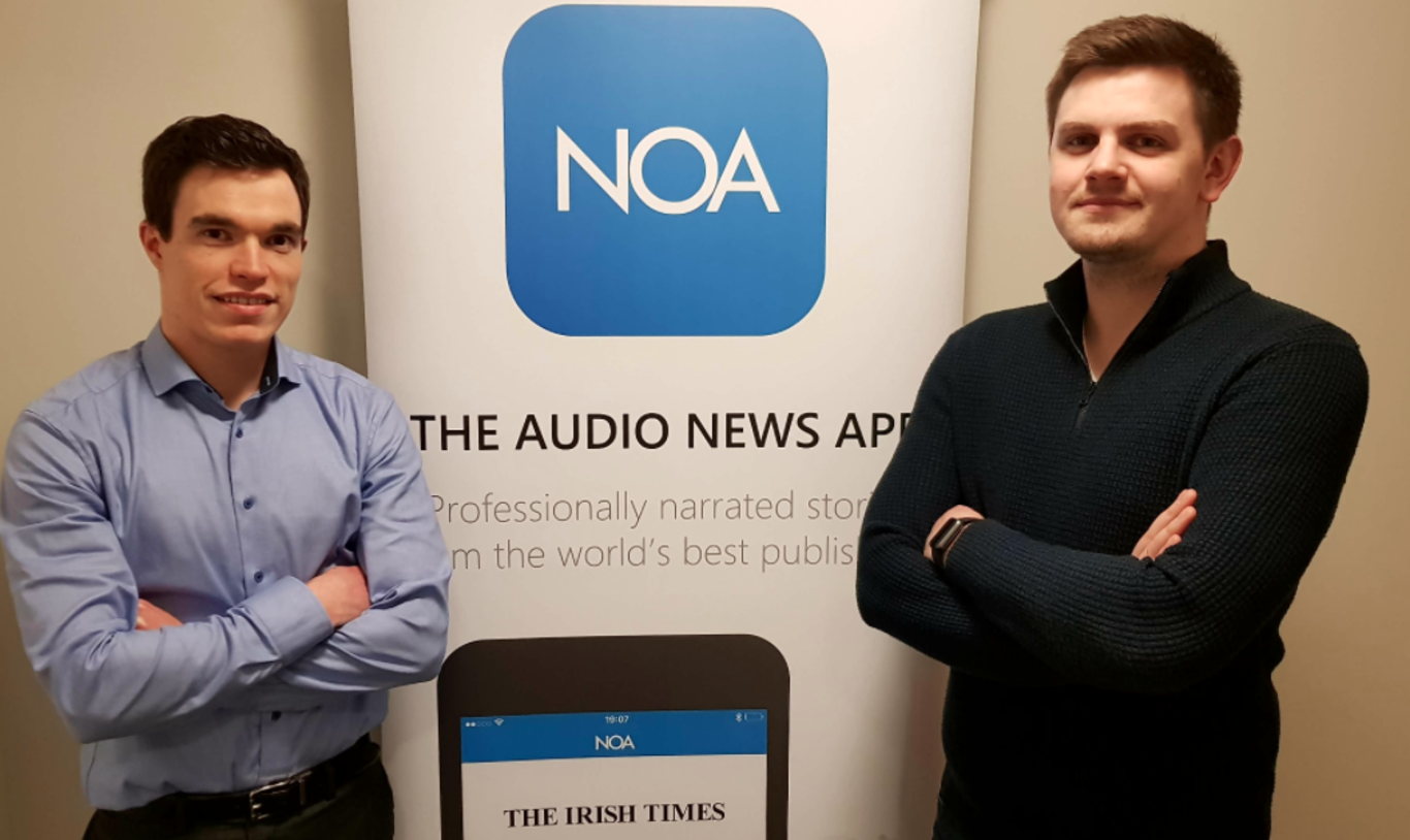 Meet the Dublin startup that wants to become the Spotify of news - Fora