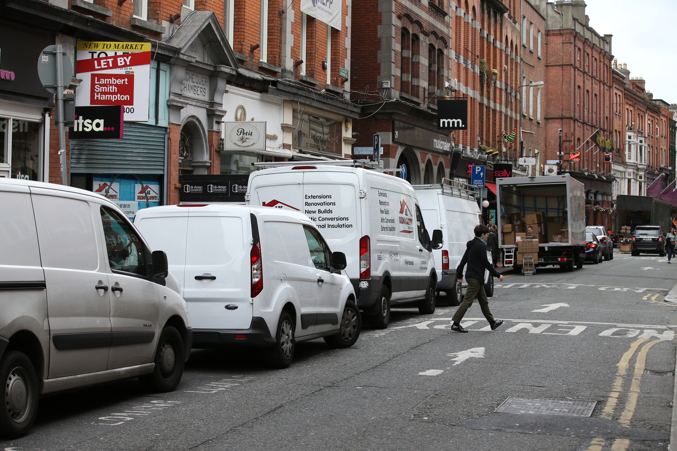 5293ed902e Dublin council is planning a  last-mile delivery  service to cut back on  trucks and vans in the city